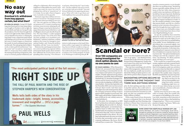 Article Preview: No easy way out, December 2006 | Maclean's