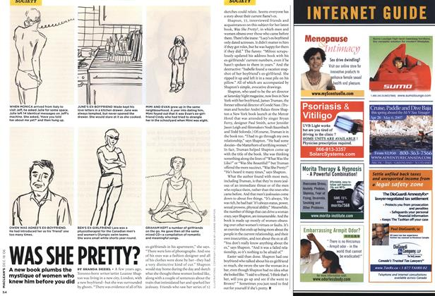 Article Preview: WAS SHE PRETTY?, December 2006 | Maclean's