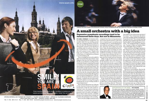 Article Preview: A small orchestra with a big idea, December 2006 | Maclean's