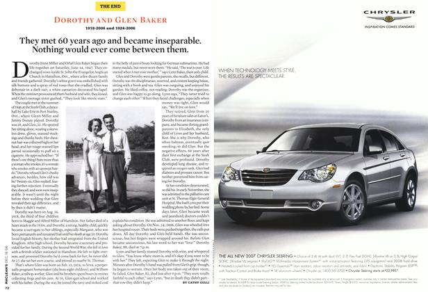 Article Preview: DOROTHY AND GLEN BAKER 1918-2006 and 1924-2006, December 2006 | Maclean's