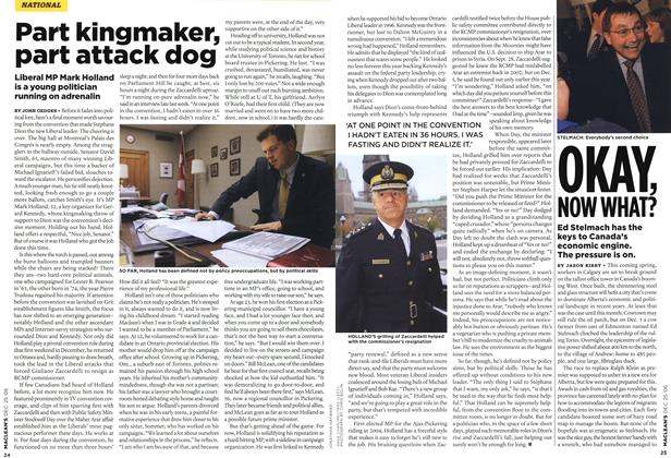 Article Preview: Part kingmaker, part attack dog, December 2006 | Maclean's