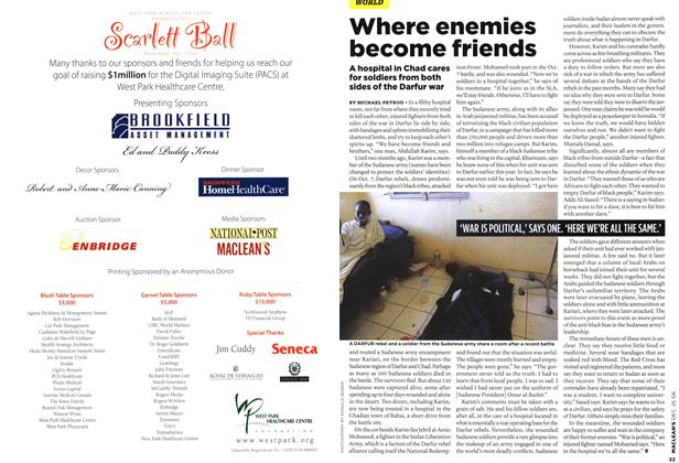 Article Preview: Where enemies become friends, December 2006 | Maclean's