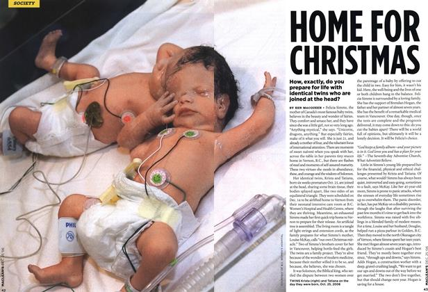 Article Preview: HOME FOR CHRISTMAS, December 2006 | Maclean's