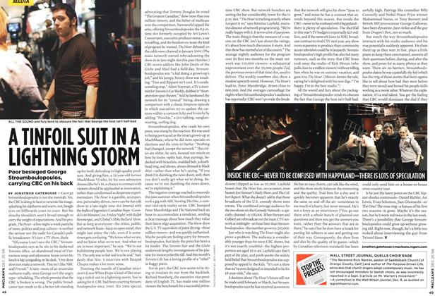Article Preview: A TINFOIL SUIT IN A LIGHTNING STORM, December 2006 | Maclean's
