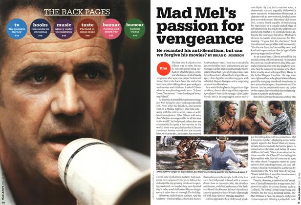 Article Preview: THE BACK PAGES, December 2006 | Maclean's