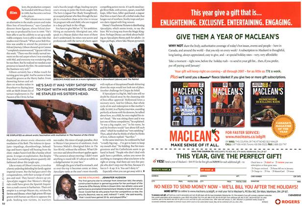 Article Preview: Advertisement, December 2006 | Maclean's