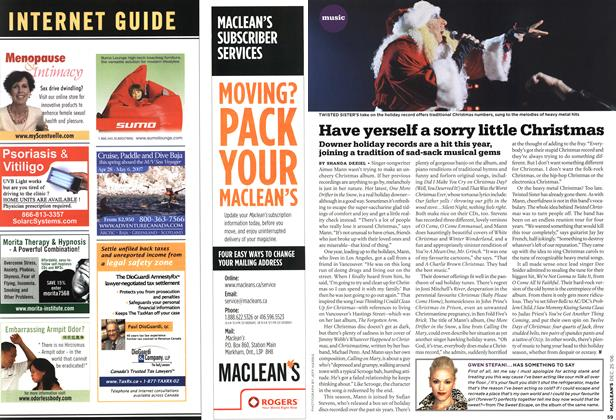 Article Preview: Have yerself a sorry little Christmas, December 2006 | Maclean's