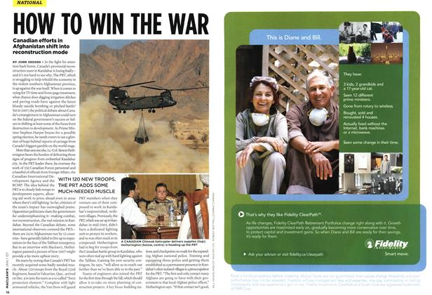 Article Preview: HOW TO WIN THE WAR, JAN. 1st 2007 2007 | Maclean's