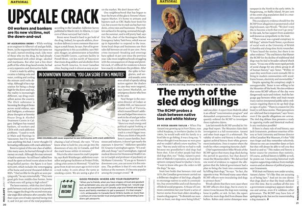 Article Preview: The myth of the sled dog killings, JAN. 1st 2007 2007 | Maclean's