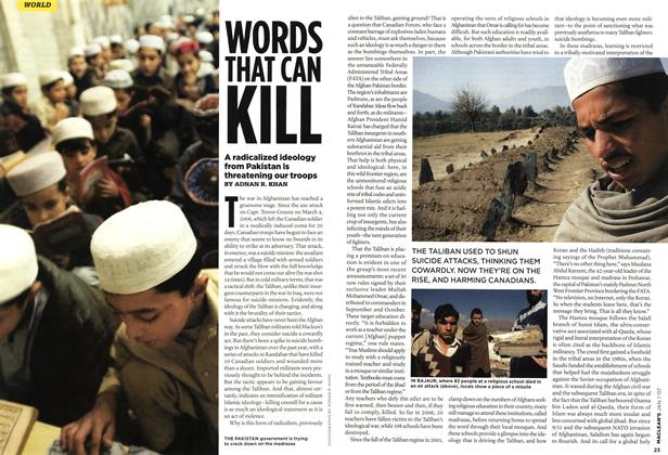 Article Preview: WORDS THAT CAN KILL, JAN. 1st 2007 2007 | Maclean's