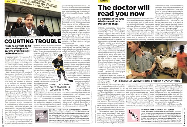 Article Preview: COURTING TROUBLE, JAN. 1st 2007 2007 | Maclean's