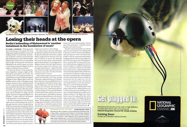 Article Preview: Losing their heads at the opera, JAN. 1st 2007 2007 | Maclean's