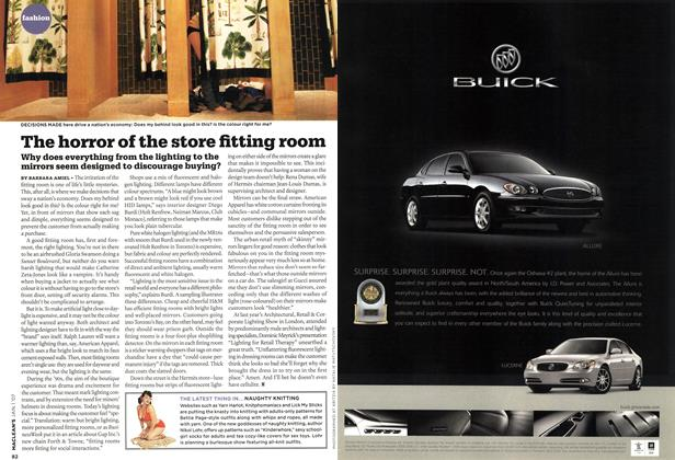 Article Preview: The horror of the store fitting room, JAN. 1st 2007 2007 | Maclean's
