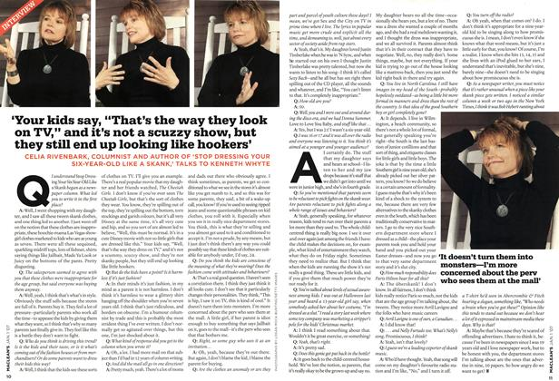 Article Preview: INTERVIEW, JAN. 1st 2007 2007   Maclean's