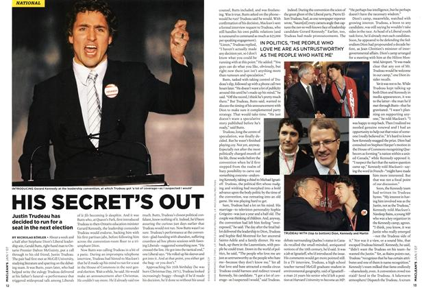 Article Preview: HIS SECRET'S OUT, JAN. 1st 2007 2007   Maclean's