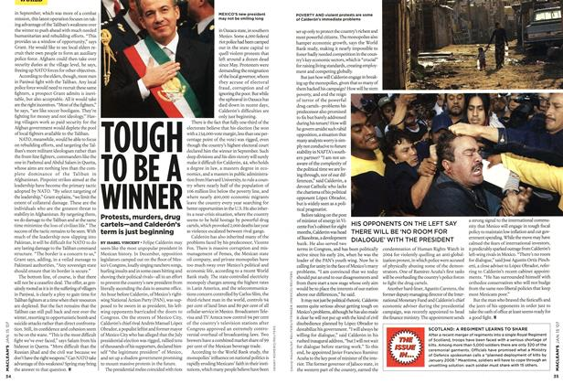 Article Preview: TOUGH TO BE A WINNER, JAN. 15th 2007 2007 | Maclean's