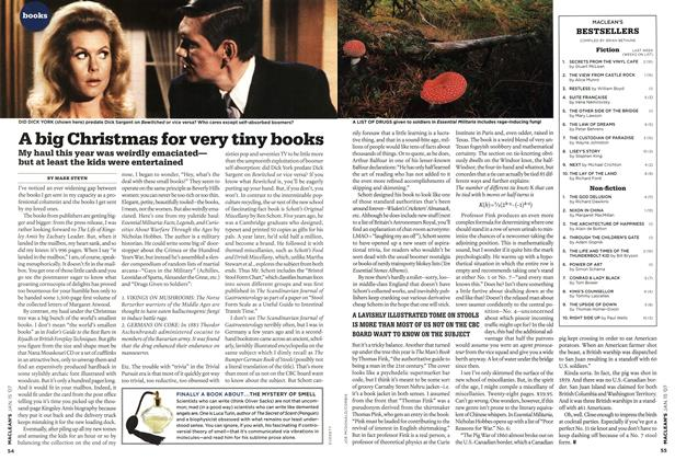 Article Preview: A big Christmas for very tiny books, JAN. 15th 2007 2007 | Maclean's