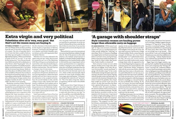 Article Preview: 'A garage with shoulder straps', JAN. 15th 2007 2007 | Maclean's