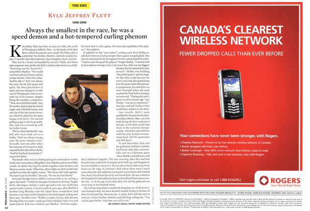 Article Preview: KYLE JEFFREY FLETT 1986-2006, JAN. 15th 2007 2007 | Maclean's