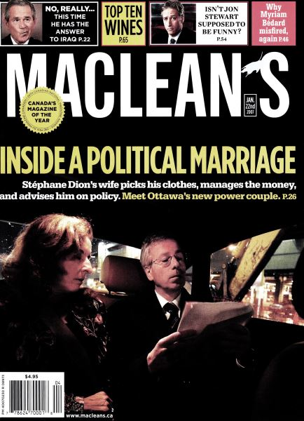 Issue: - JAN. 22nd 2007 | Maclean's