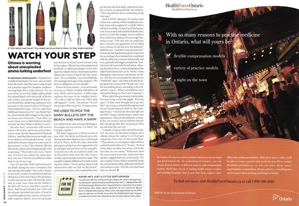 Article Preview: WATCH YOUR STEP, JAN. 22nd 2007 2007 | Maclean's