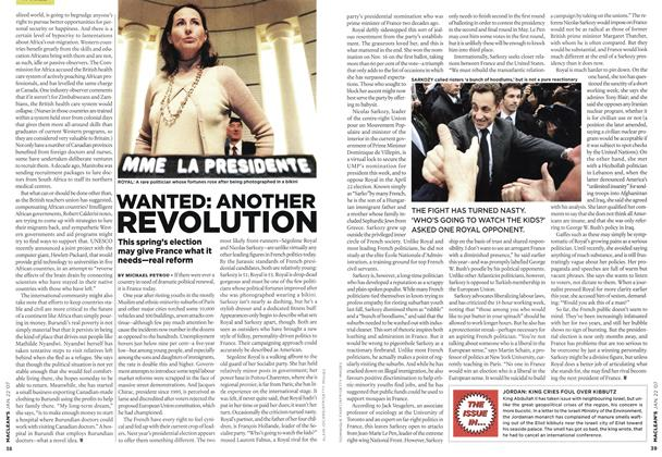 Article Preview: WANTED: ANOTHER REVOLUTION, JAN. 22nd 2007 2007 | Maclean's
