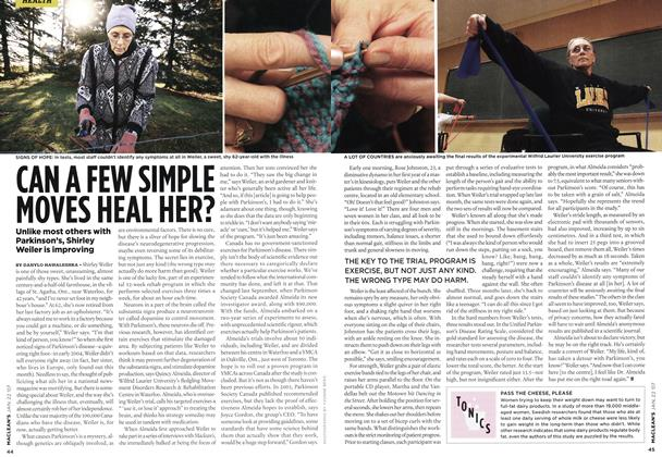 Article Preview: CAN A FEW SIMPLE MOVES HEAL HER?, JAN. 22nd 2007 2007 | Maclean's