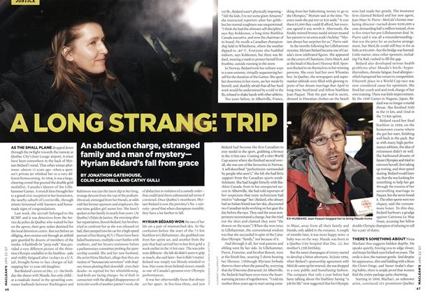 Article Preview: A LONG STRANGE TRIP, JAN. 22nd 2007 2007 | Maclean's