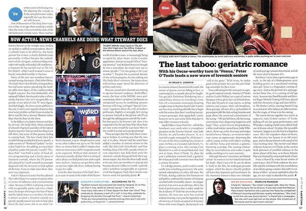 Article Preview: The last taboo: geriatric romance, JAN. 22nd 2007 2007 | Maclean's
