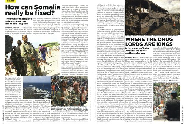 Article Preview: How can Somalia really be fixed?, JAN. 29th 2007 2007 | Maclean's