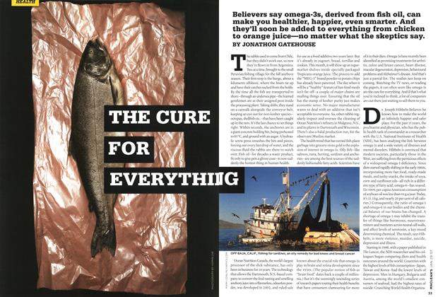Article Preview: THE CURE FOR EVERYTHING, JAN. 29th 2007 2007 | Maclean's