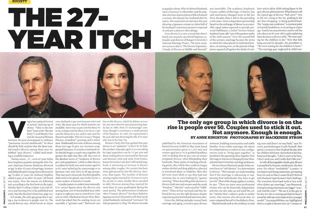 Article Preview: THE 27-YEAR ITCH, JAN. 29th 2007 2007 | Maclean's