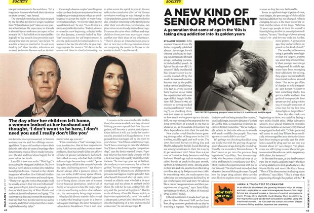 Article Preview: A NEW KIND OF SENIOR MOMENT, JAN. 29th 2007 2007 | Maclean's