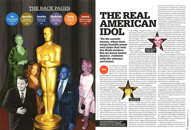 Article Preview: THE REAL AMERICAN IDOL, JAN. 29th 2007 2007 | Maclean's