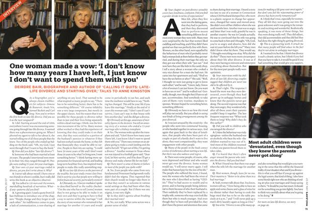 Article Preview: INTERVIEW, JAN. 29th 2007 2007 | Maclean's