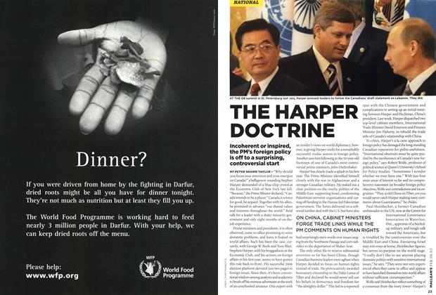 Article Preview: THE HARPER DOCTRINE, FEB. 5th 2007 2007 | Maclean's