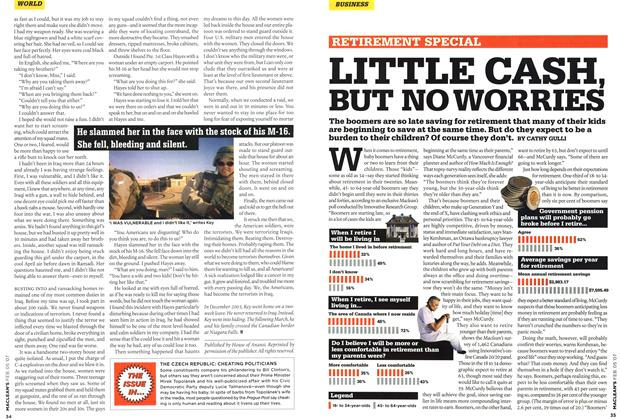 Article Preview: LITTLE CASH, BUT NO WORRIES, FEB. 5th 2007 2007 | Maclean's