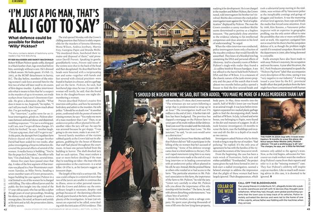 Article Preview: TN JUST A PIG MAN, THAI'S ALL I GOT TO SAY', FEB. 5th 2007 2007 | Maclean's