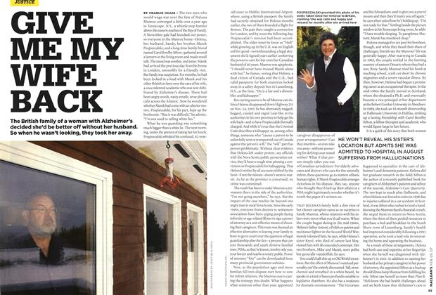 Article Preview: GIVE ME MY WIFE BACK, FEB. 5th 2007 2007 | Maclean's