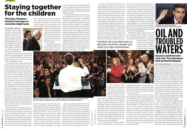 Article Preview: Staying together for the children, FEB. 12th 2007 2007 | Maclean's
