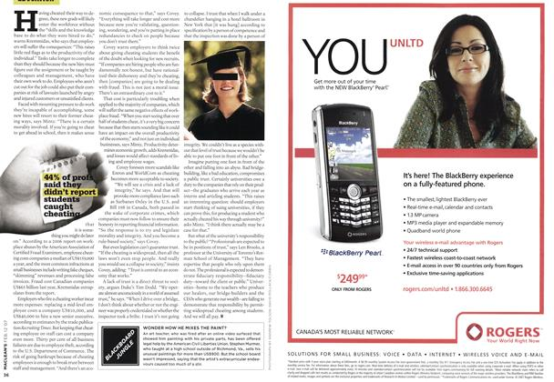 Article Preview: BLACKBOARD JUNGLE, FEB. 12th 2007 2007 | Maclean's