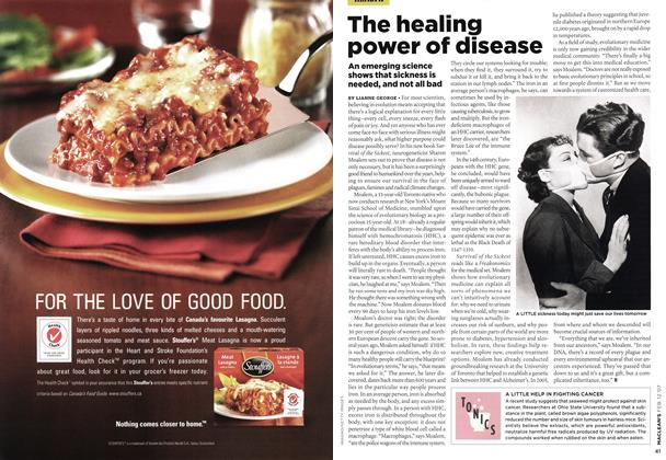 Article Preview: The healing power of disease, FEB. 12th 2007 2007 | Maclean's
