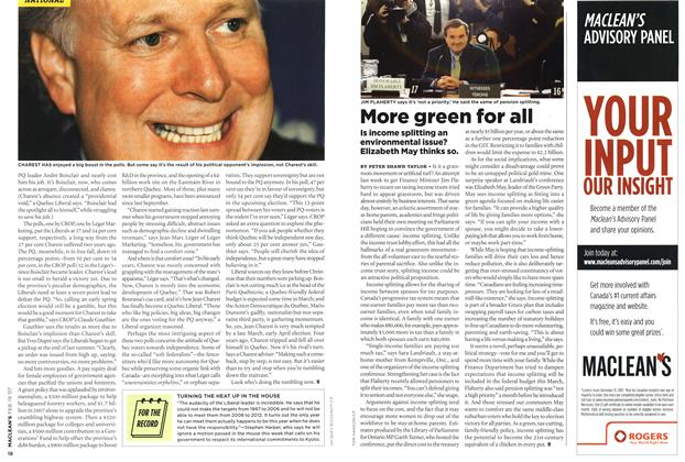 Article Preview: More green for all, FEB. 19th 2007 2007 | Maclean's