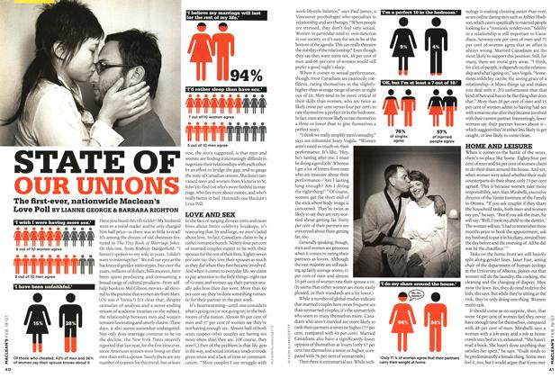 Article Preview: STATE OF OUR UNIONS, FEB. 19th 2007 2007 | Maclean's