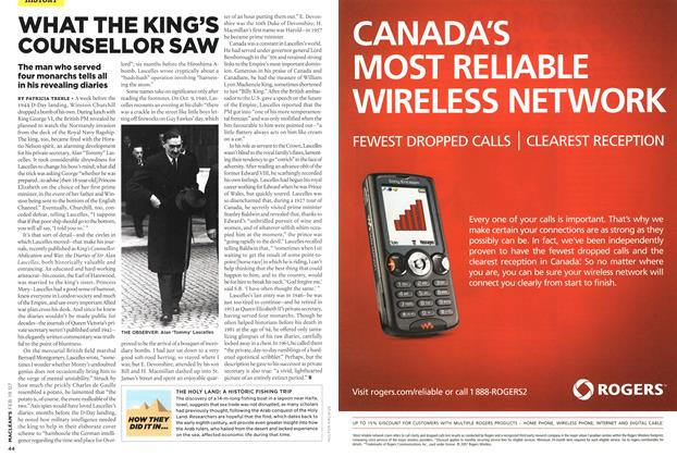 Article Preview: Advertisement, FEB. 19th 2007 2007 | Maclean's
