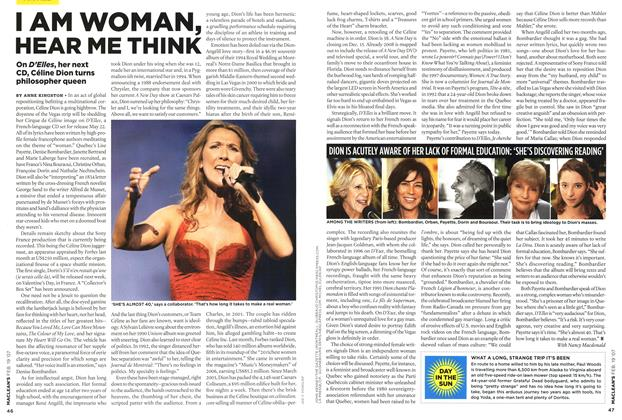 Article Preview: I AM WOMAN, HEAR ME THINK, FEB. 19th 2007 2007 | Maclean's