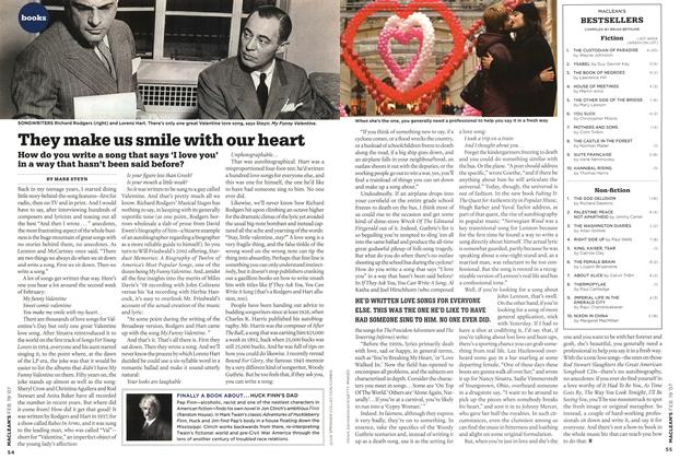 Article Preview: They make us smile with our heart, FEB. 19th 2007 2007 | Maclean's
