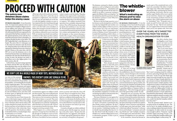 Article Preview: PROCEED WITH CAUTION, FEB. 26th 2007 2007 | Maclean's