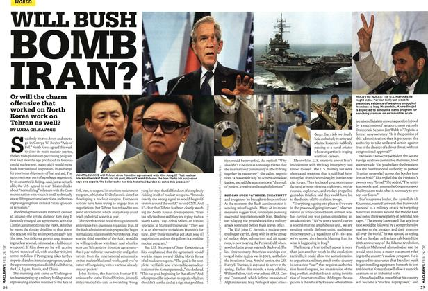 Article Preview: WILL BUSH BOMB IRAN?, FEB. 26th 2007 2007 | Maclean's