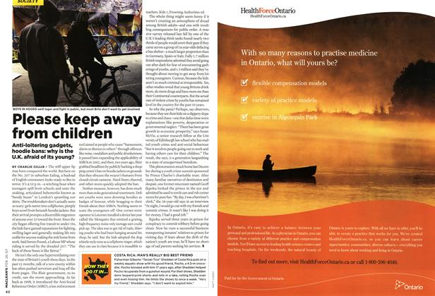 Article Preview: Please keep away from children, FEB. 26th 2007 2007 | Maclean's